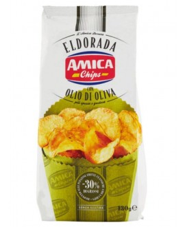 AMICA CHIPS ELDORADA OLIO DI OLIVA GR.130