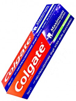 COLGATE DENT. MAXIMUM PROTECTION CARIES ML.75