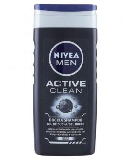 NIVEA DOCCIA MEN ACTIVE CLEAN ML.250