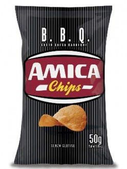 AMICA CHIPS LA PATATINA BARBECUE GR50