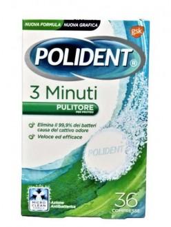 POLIDENT TABS 3 MINUTI PZ.36