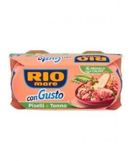 RIO MARE CON GUSTO PISELLI&TONNO GR.160X2