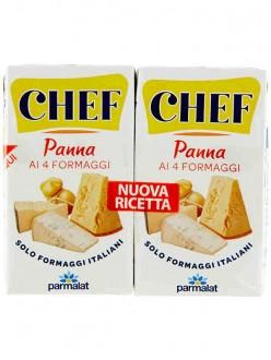 PARMALAT PANNA CHEF 4 FORMAGGI ML.125X2