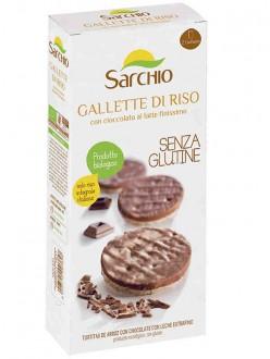 SARCHIO GALLETTE RISO CIOCC.LATTE GR100