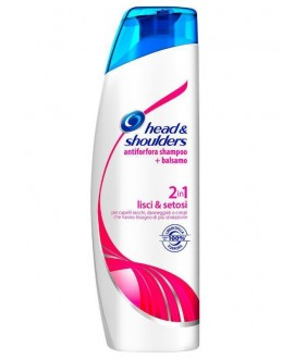 HEAD&SHOULDER SHAMPOO 2IN1 LISCI ML.225