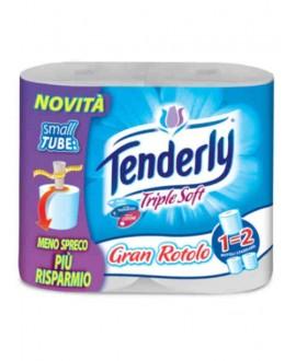 TENDERLY CARTA IGIENICA TRILE SOFT X4