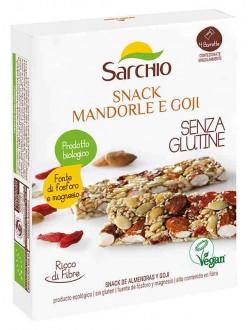 SARCHIO SNACK MANDORLE&GOJI GR.80