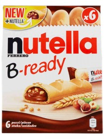 FERRERO NUTELLA BREADY T6