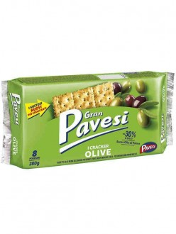 PAVESI CRACKERS OLIVE GR280
