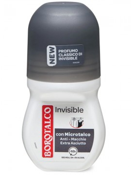 BOROTALCO DEODORANTE INVISIBILE ROLL-ON ML.50