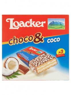 LOACKER CHOCO & COCO GR.22X3