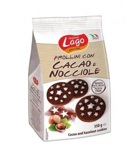 ELLEDÌ LAGO FROLLINI CACAO/NOCCIOLE GR.350