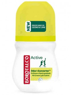 BOROTALCO DEO ACTIVE GIALLO ROLL-ON ML.50