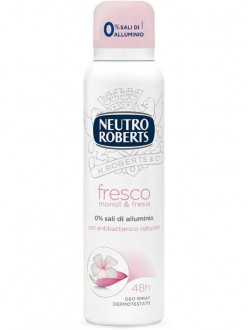 ROBERTS DEO SPRAY FRESCO ROSA ML.125