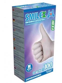 SMILEX GUANTI LATTICE MEDI PZ.100