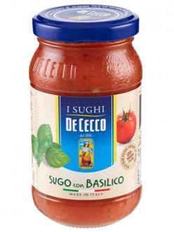 DE CECCO SUGO BASILICO GR200