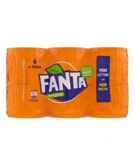 FANTA MINI LATTINE ML.150X6