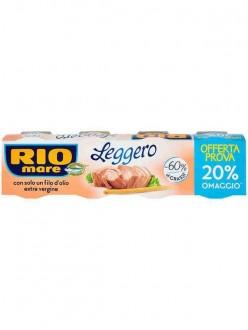 RIO MARE TONNO LEGGERO-30% GRASSI GR.120