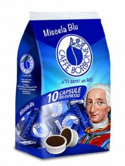 BORBONE CAFFE' CAPSULE MISCELA BLU PZ.10