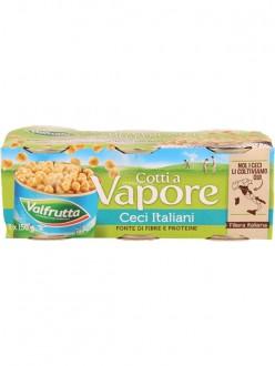 VALFRUTTA CECI VAPORE GR.150X3