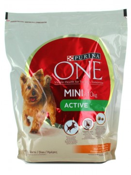 PURINA ONE MY DOG IS MINI ACTIVE POL/RISO BS.800