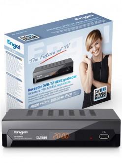 ENGEL RT6120T2 RICEVITORE TERRESTRE DVB-T2 HEVC