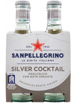 S.PELLEGRINO COCKTAIL SILVER CL.20X4