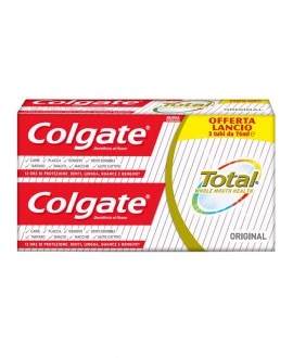 COLGATE DENT.TOTAL ORIGINAL ML.75X2