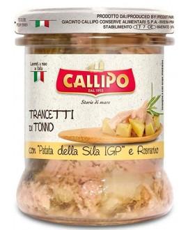 CALLIPO TRANCETTI TONNO C/PATATE GR.170