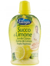 POLENGHI SUCCO DI LIMONE PET ML.200
