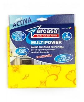 ARCASA PANNO ACTIVIA +30% MICROFIBRA PZ.2
