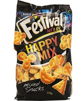 SIRO FESTIVAL HAPPY MIX SNACKS GR.175