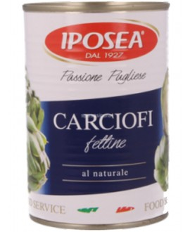 IPOSEA FETTINE CARCIOFI NATURALE GR.400