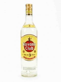 HAVANA CLUB RHUM 3 ANOS CL.70
