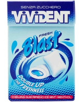 VIVIDENT BLAST FRESH ICE MINT X200