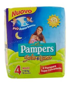 PAMPERS SOLE E LUNA MAXI N°4 PZ.18