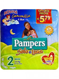 PAMPERS SOLE E LUNA MINI PZ.25