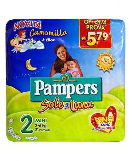 PAMPERS SOLE E LUNA MINI PZ.25