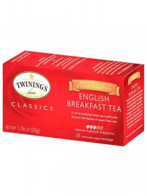 TWINING THÈ ENGLISH BREAKFAST 25 F.