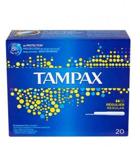TAMPAX BLU BOX REGULAR x 20